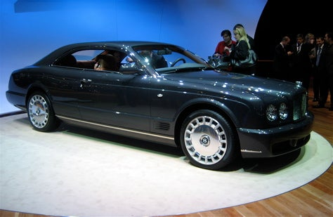 Geneva Showcase: Bentley Brooklands
