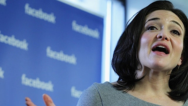 Sheryl Sandberg Thinks Women Need to Pick Themselves Up by Their Bootstraps