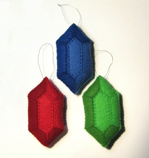 Cover Your Christmas Tree With Hand-Made Gaming Ornaments