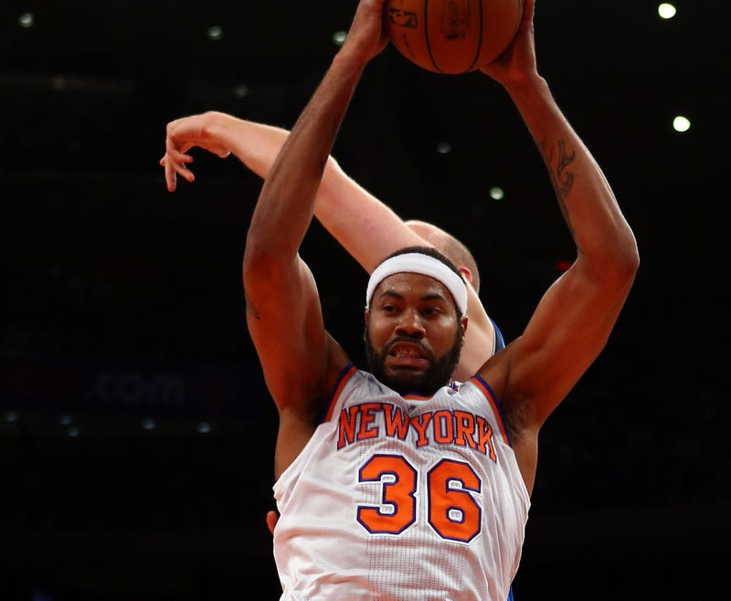 """I'm 38 Years Old, Baby"": Things Rasheed Wallace Said, Did, And Pointed At During Last Night's Knicks Game"