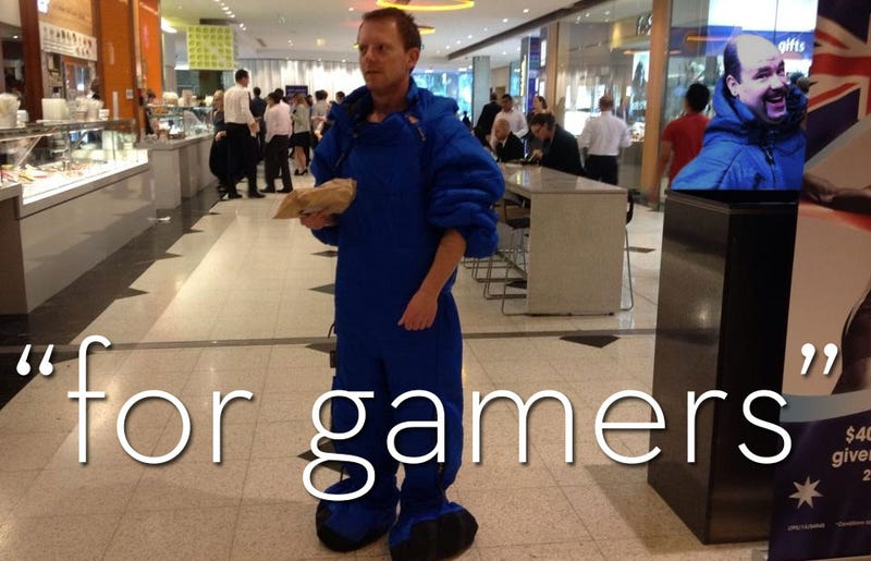 I Spent An Entire Day Wearing A Sleeping Bag. Because Video Games.