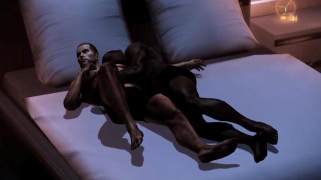 Mass Effect 3's Sex Scenes Are Super Awkward