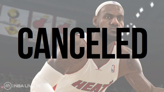 EA Sports Cancels NBA Live 13