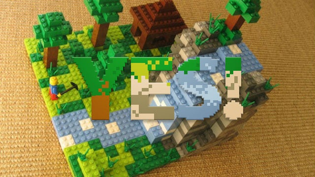 Lego Minecraft Is Happening!