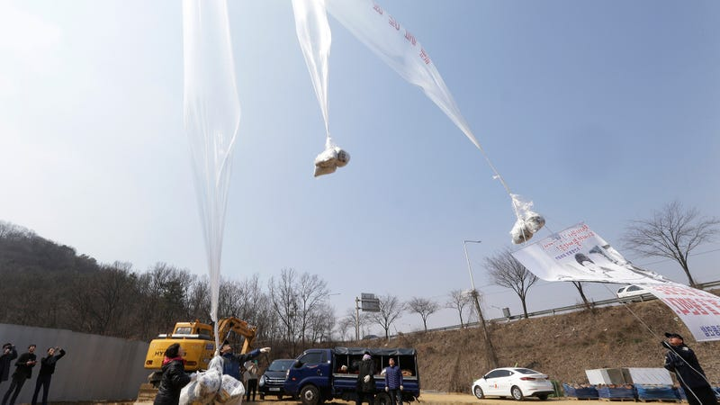 Campaigners Float Thousands of Anti-Jong-Un Flyers into North Korea