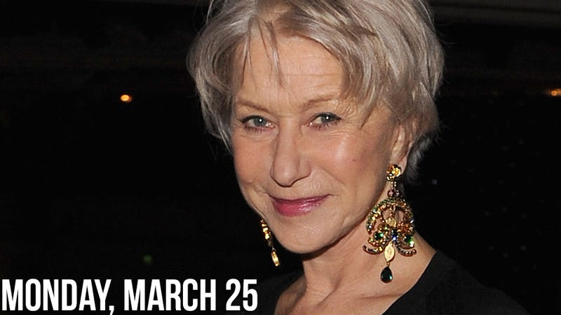 Helen Mirren Scolds Sam Mendes For Dude-Laden Thank You Speech