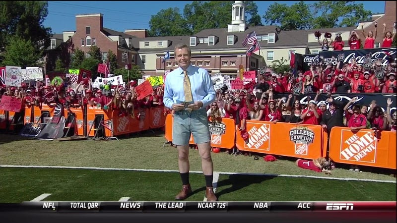Tom Rinaldi Wearing Jorts