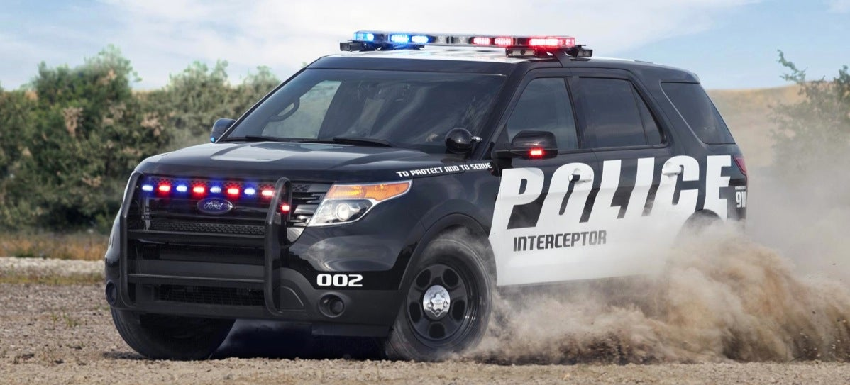 It Makes Sense That The Ford Explorer Is The Best-Selling Police Car