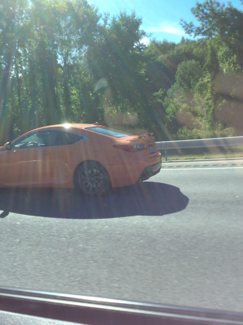 Spotted: Lexus RC's