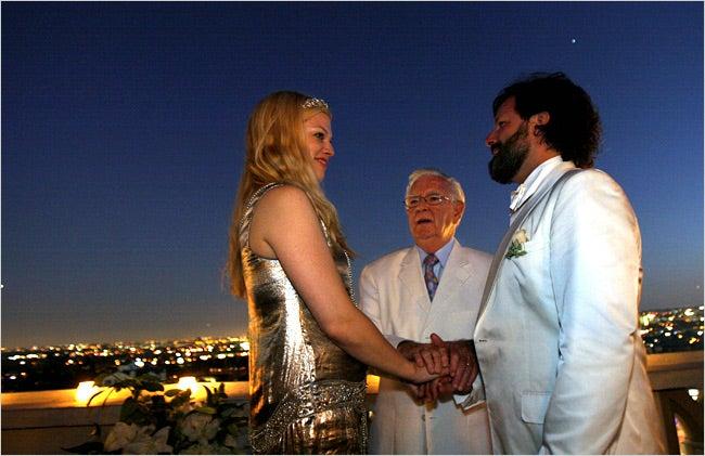 'Black Book' Editor's Hurricane Love Affair Ends In Wedding
