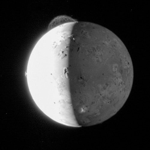Jupiter's Explosive Moon Io Built Its Atmosphere Out of Frozen Volcano Gas