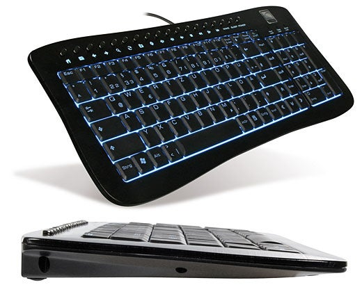 Speed Link Aluminum Keyboard, Backlit in Blue