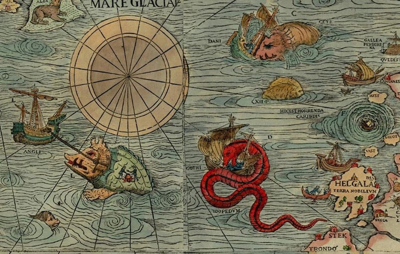 Centuries-Old Drawings of Europe's Greatest Sea Monsters