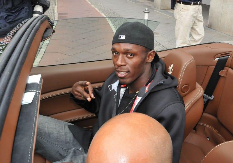 Usain Bolt Not Fast Enough, Needs Ferrari