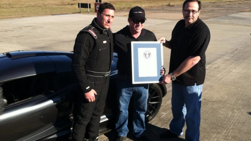 The Hennessey Venom GT Just Went 0-To-186 MPH In 13.63 Seconds