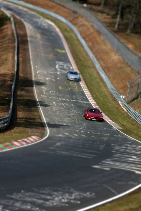 Tilt-Shifting Across The 'Ring In An SLS