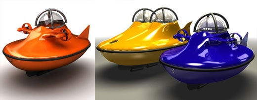 U-Boat Worx Personal Subs