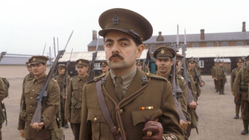 Captain Blackadder And Private Baldrick Actually Served In WWI