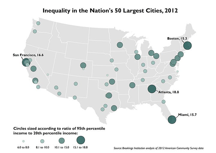 The Nation's Most Unequal City Isn't NYC or San Francisco