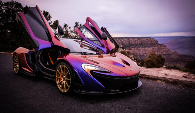 What It Was Like Driving My Dream Car, A Hyperbluprle McLaren P…