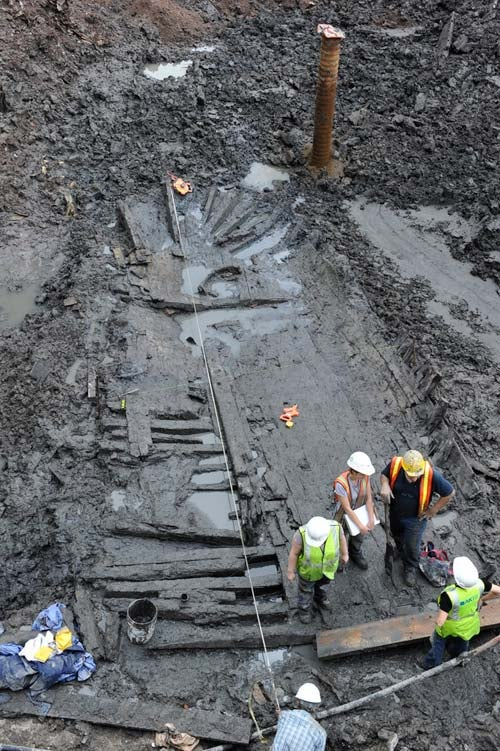18th-Century Ship Exhumed at World Trade Center Site