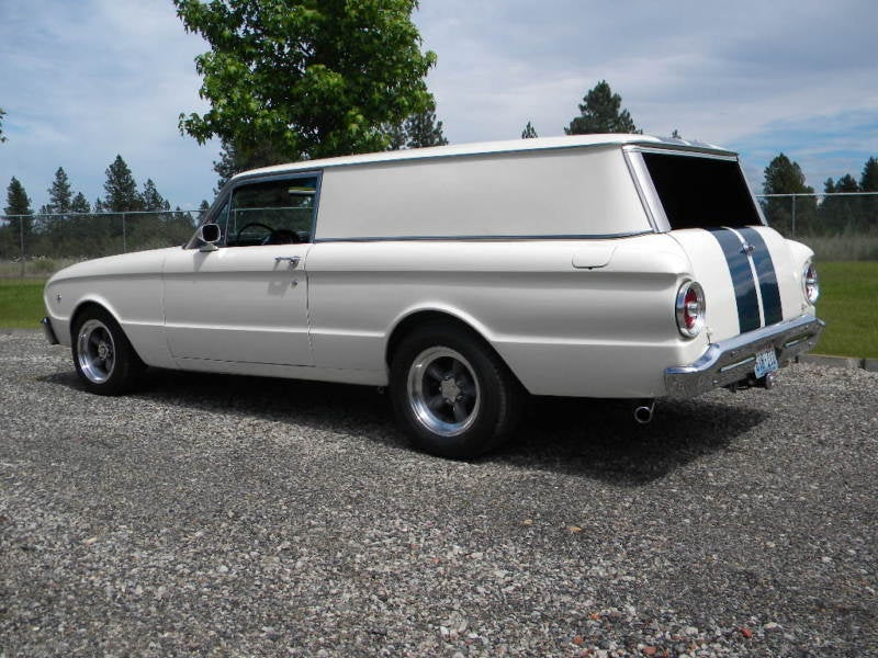 Hauling Ass- A 500 Horsepower 1963 Ford Falcon Sedan Delivery Van