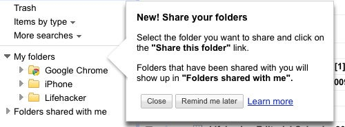 Google Adds Shared Folders to Docs