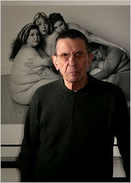 "Leonard Nimoy ""Has No Way of Dealing"" With Fattie Fetish Accusations"