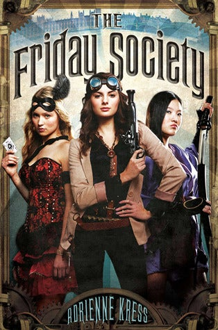 This steampunk girls' adventure novel might actually knock your goggles off