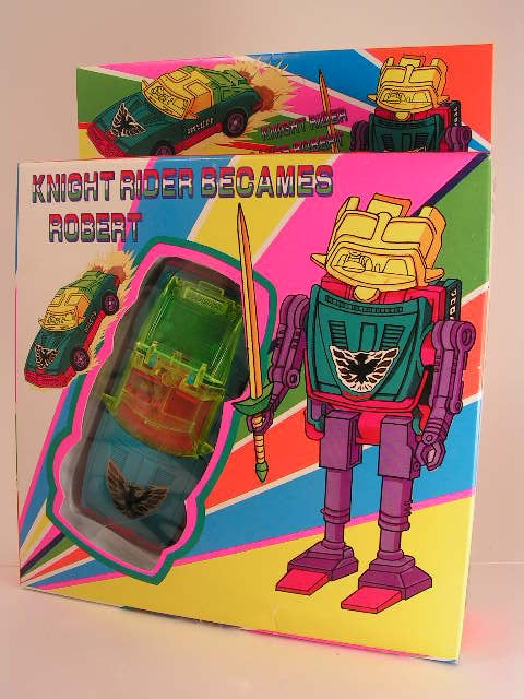 Go-Bots? Knight Rider? What. Is. This.