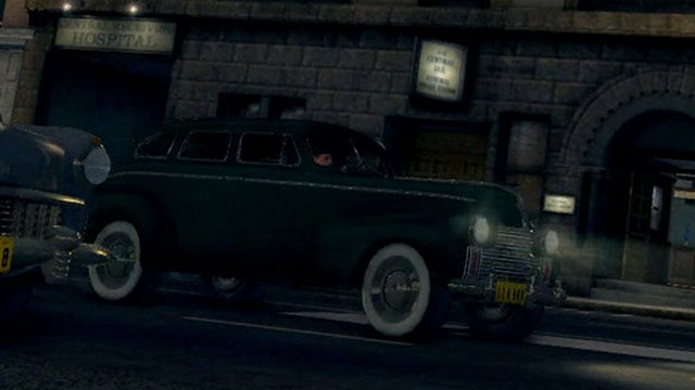 The Cars of L.A. Noire