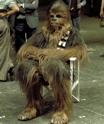 Chewbacca actor almost starred in a Bigfoot movie