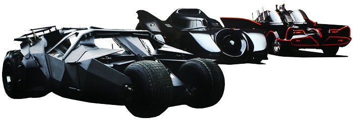 Track, DD, Burn - Batmobile Edition: Results