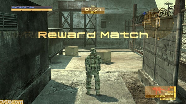 Metal Gear Online Goes Icebound With Old Friend