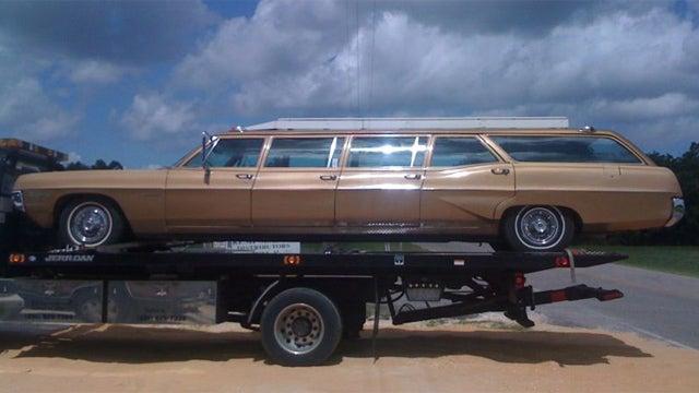 Massive Stretched Pontiac Station Wagon Is A Unique Head-Scratcher