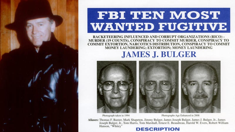 Legendary Boston Crime Boss Whitey Bulger Arrested