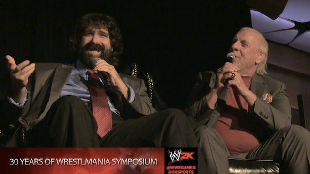 A Possibly-Drunk Ric Flair Made This WWE 2K14 Panel Extra-Entertaining