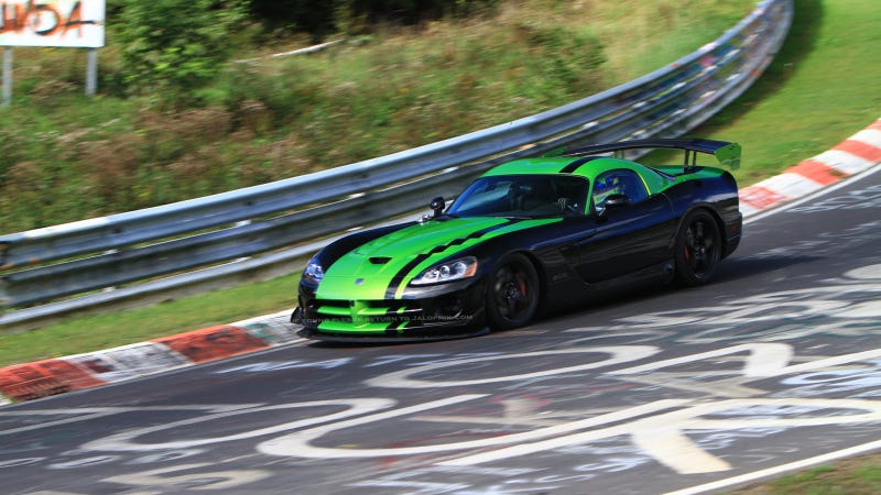 Dodge Viper Nürburgring Ring Record Run