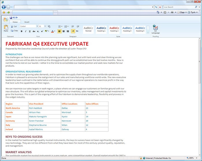 Microsoft Office 2010 Web Apps Will Be Free; Testing Starts Today