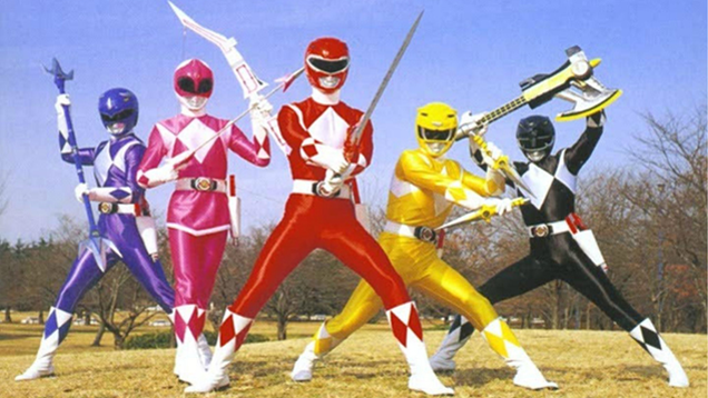 The true Power Rangers are coming to the West for the first time ever