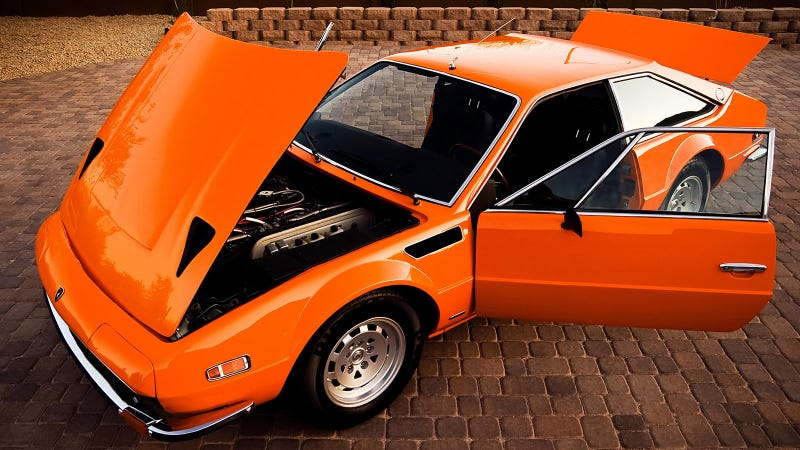No One Remembers The Last Front-Engined Lamborghini Car