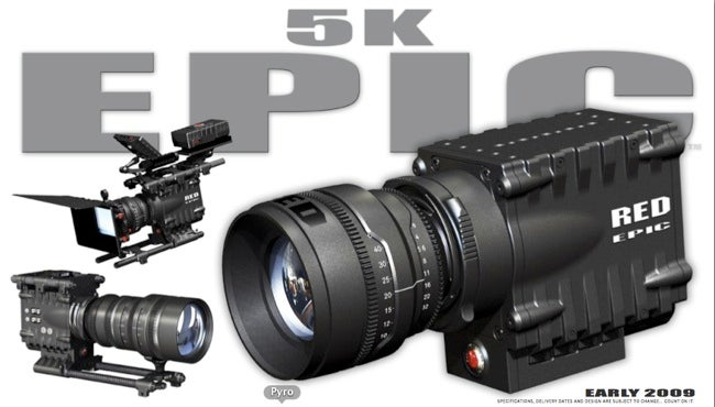 RED Launches 5K RED EPIC Flagship Camera