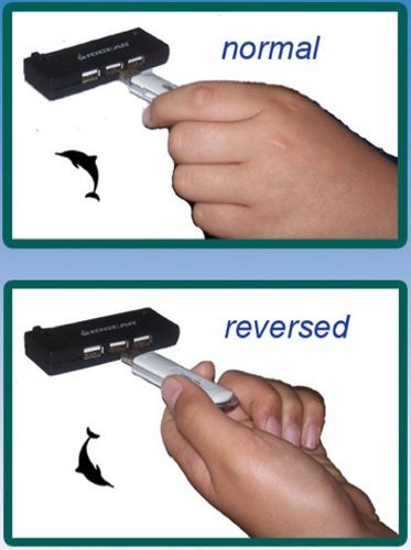 Flipper USB Works Any Way You Plug It