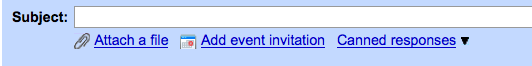Gmail Offers Canned Responses for the Lazy Emailer in All of Us