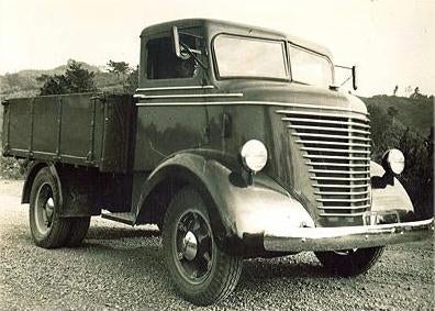 This is a Nissan 80 truck from '37