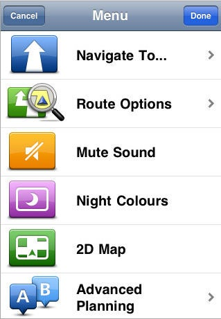 TomTom For iPhone Gallery