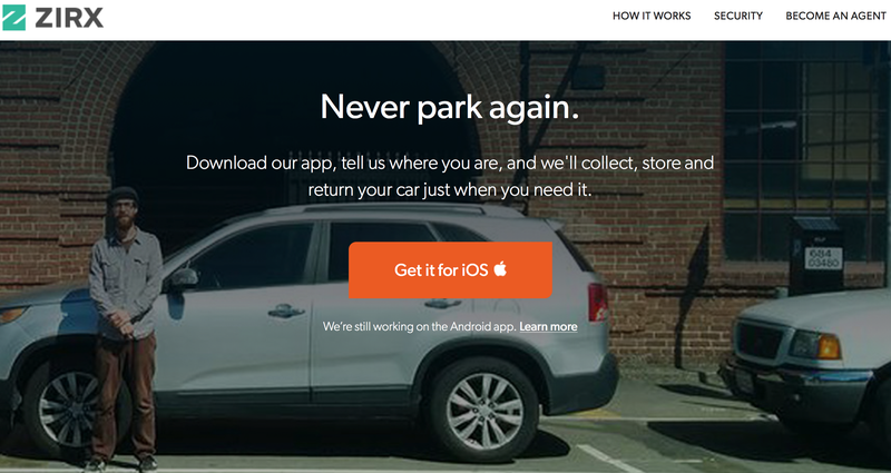 San Francisco Gets Lazier: An App for Valet Parking Everywhere