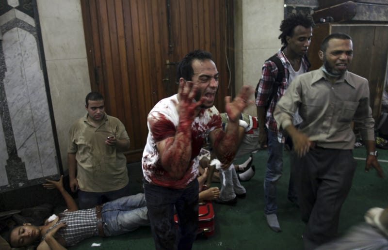 Security Forces Storm Mosque in Egypt After Tense Standoff