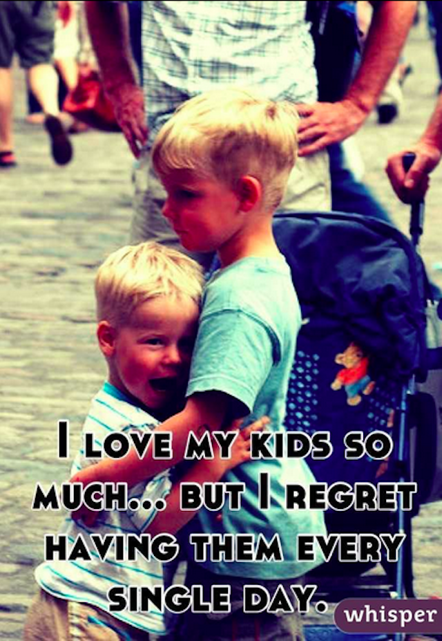 Happy Mother's Day From the Moms on Whisper Who Hate Their Kids