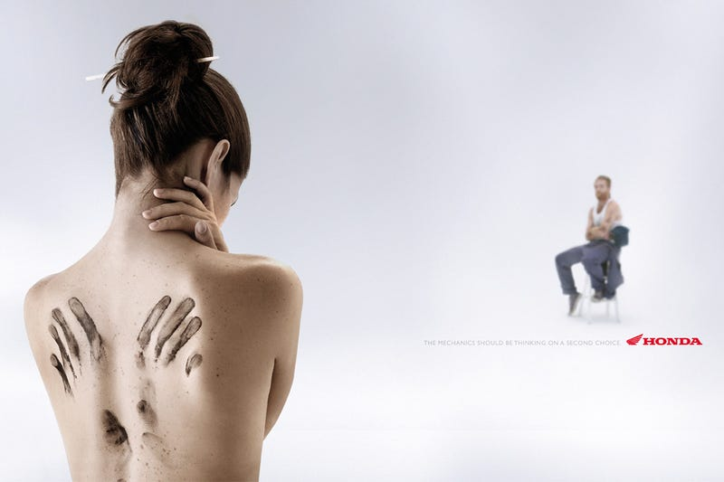 Ten Highly-Suggestive Automotive Print Ads